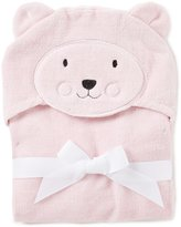 Starting Out Baby Girls Bear Hooded Bath Towel