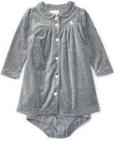 Ralph Lauren Girls' Velour Dress
