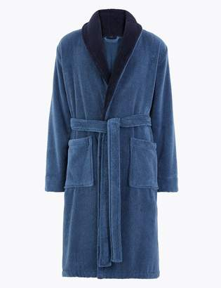 M&S CollectionMarks and Spencer Big & Tall Cotton Supersoft Towelling Gown