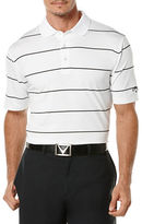 Callaway Golf Performance Auto Stripe Short Sleeve Polo Shirt