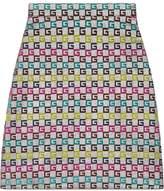 Gucci Velvet G lurex skirt
