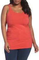 Sejour Plus Size Women's New Slim Strap Tank
