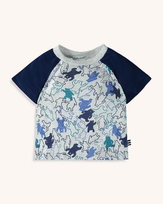 Splendid Toddler Boy Dancing Bear Print Tee