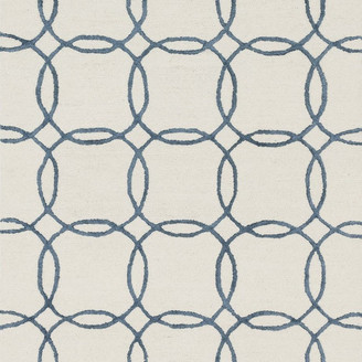 """Loloi Rugs Loloi Panache Collection Rug, Ivory and Blue, 9'3""""x13'"""