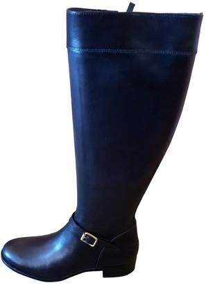 Rupert Sanderson Black Leather Boots