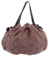See by Chloe Leather-Trimmed Woven Bag