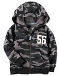 Carter's Toddler Boy Camouflage Zip Hoodie