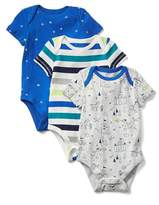 Gap Fairy tale short sleeve bodysuit (3-pack)