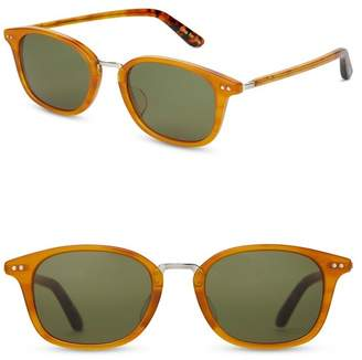 Toms 50mm Barron Aviator Sunglasses