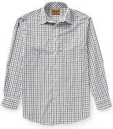 Roundtree & Yorke Gold Label Big & Tall Non-Iron Long-Sleeve Tattersall Sportshirt