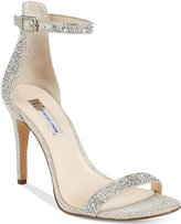INC International Concepts Women's Roriee Rhinestone Ankle-Strap Dress Sandals, Only at Macy's