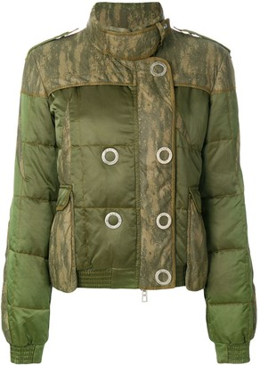 Christian Dior Pre Owned double-breasted quilted jacket