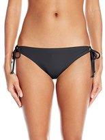 Reef Women's Solids Tunnel Side Bikini Bottom