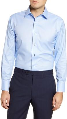 Lorenzo Uomo Trim Fit Oxford Cotton Dress Shirt