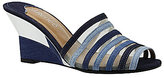 J. Renee Bridgeway Slide Sandals