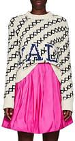 "CALVIN KLEIN 205W39NYC Women's ""Yale"" Wool-Blend Sweater - Cream"
