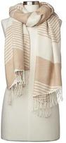Gap Cozy colorblock stripe scarf
