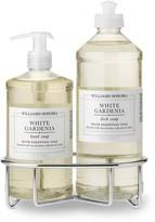 Williams-Sonoma Williams Sonoma White Gardenia Soap & Dish Soap, Classic 3-Piece Set