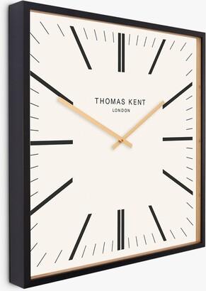 Thomas Laboratories Kent Garrick Square Analogue Wall Clock, 60cm