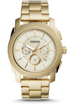Fossil Machine Chronograph Gold-Tone Stainless Steel Watch