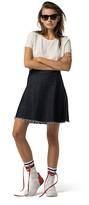 Tommy Hilfiger A-Line Jean Skirt