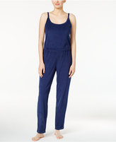 Hue Cotton-Blend Terry Jumpsuit