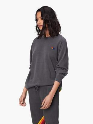 Aviator Nation Sunburst Sweatshirt - Vintage Charcoal