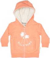 Billabong Tots Girls Treasure Zip Thru Hoodie Pink
