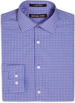 Michael Kors Boys' Pastel Micro Plaid Dress Shirt