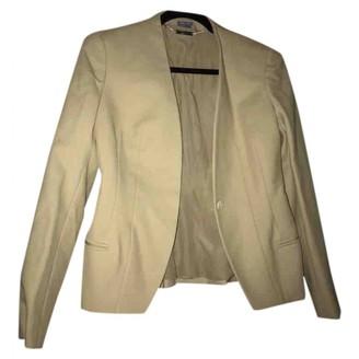 Alexander McQueen Yellow Polyester Jackets