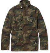 Amiri - M-65 Camouflage-print Cotton-canvas Field Jacket