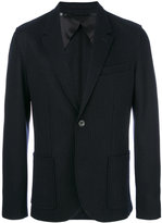 Lanvin pinstripe blazer - men - Cotton/Viscose/Wool - 48