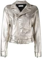 RED Valentino metallic biker jacket