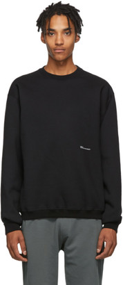 Oamc Black Hi Crewneck Sweatshirt