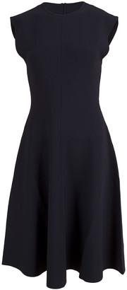 Stella McCartney Compact Knit A-Line Dress
