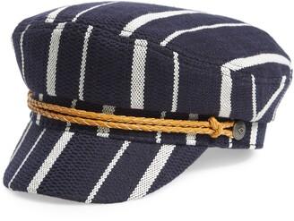 Brixton Ashland Stripe Baker Boy Cap