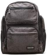 """Kenneth Cole Reaction Heathered-twill 600d Polyester Dual Compartment 15.0"""" Computer Travel Backpack Backpack"""