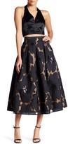 Minuet 2-Piece Scuba Halter Skirt Dress