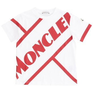 Moncler Short-sleeved T-shirt With Big Logo