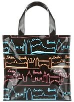 Harrods Neon City Small Tote Bag