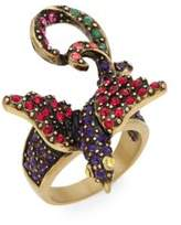 Heidi Daus Strictly For The Birds Swarovski Crystal Ring