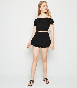 New Look Girls Frill Skort