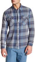 Quiksilver Long Sleeve Modern Fit Plaid Shirt