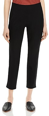 Eileen Fisher Slim Fit Cropped Pants