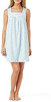 Eileen West Daisy-Print Jersey Nightgown