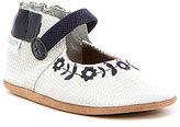 Robeez Baby Girls' Newborn-18 Months Daisy Lane Embroidered Baby Shoes