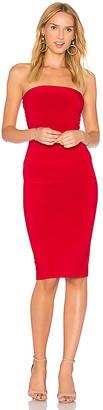 Norma Kamali x REVOLVE Strapless Dress to Knee Dress