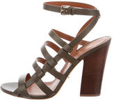 Sergio Rossi Leather Capri Sandals w/ Tags