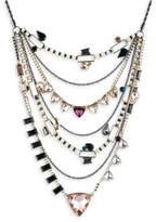 ABS by Allen Schwartz Layered Stone-Accented Statement Necklace