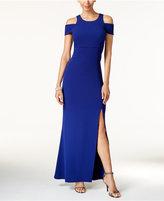 MSK Off-The-Shoulder A-Line Gown